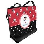 Pirate & Dots Beach Tote Bag (Personalized)