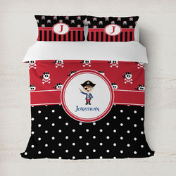 Pirate & Dots Duvet Covers (Personalized)