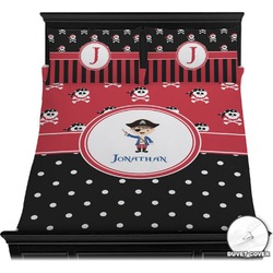 Pirate & Dots Duvet Cover Set (Personalized)
