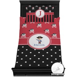 Pirate & Dots Duvet Cover Set - Toddler (Personalized)