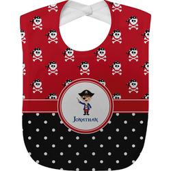 Pirate & Dots Baby Bib (Personalized)