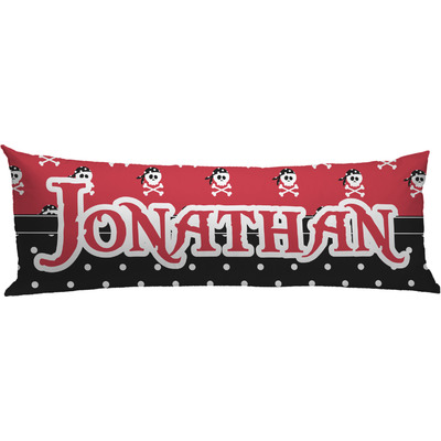 Pirate & Dots Body Pillow Case (Personalized)