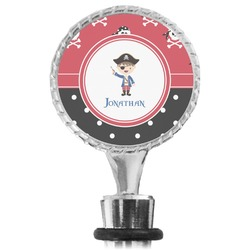 Pirate & Dots Wine Bottle Stopper (Personalized)