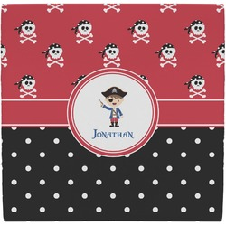 Pirate & Dots Ceramic Tile Hot Pad (Personalized)