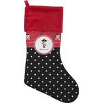 Pirate & Dots Christmas Stocking (Personalized)
