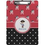 Pirate & Dots Clipboard (Personalized)
