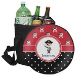 Pirate & Dots Collapsible Cooler & Seat (Personalized)