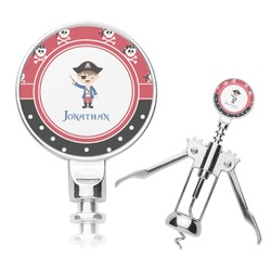 Pirate & Dots Corkscrew (Personalized)