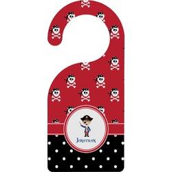 Pirate & Dots Door Hanger (Personalized)