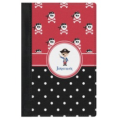Pirate & Dots Genuine Leather Passport Cover (Personalized)