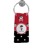 Pirate & Dots Hand Towel - Full Print (Personalized)