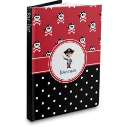 Pirate & Dots Hardbound Journal (Personalized)