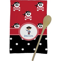Pirate & Dots Kitchen Towel - Full Print (Personalized)