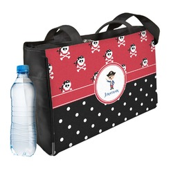 Pirate & Dots Ladies Workout Bag (Personalized)