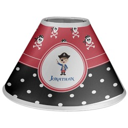 Pirate & Dots Coolie Lamp Shade (Personalized)