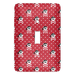Pirate & Dots Light Switch Covers - Multiple Toggle Options Available (Personalized)