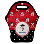 Pirate & Dots Lunch Bag w/ Name or Text