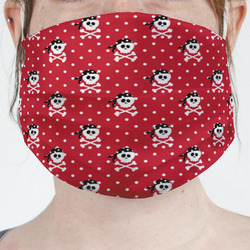 Pirate & Dots Face Mask Cover (Personalized)