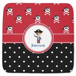 "Pirate & Dots Memory Foam Bath Mat - 48""x48"" (Personalized)"
