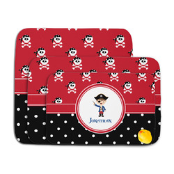 Pirate & Dots Memory Foam Bath Mat (Personalized)