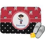 Pirate & Dots Memory Foam Bath Mat (Personalized)