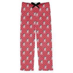 Pirate & Dots Mens Pajama Pants (Personalized)