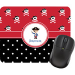 Pirate & Dots Mouse Pad (Personalized)
