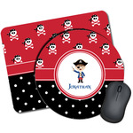 Pirate & Dots Mouse Pads (Personalized)