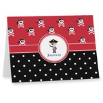 Pirate & Dots Notecards (Personalized)