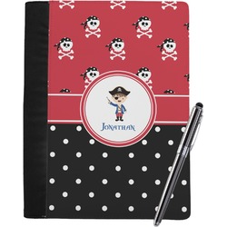 Pirate & Dots Notebook Padfolio (Personalized)
