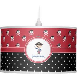 Pirate & Dots Drum Pendant Lamp (Personalized)