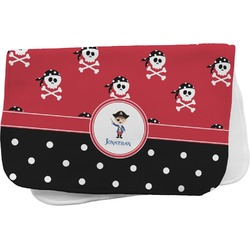 Pirate & Dots Burp Cloth (Personalized)