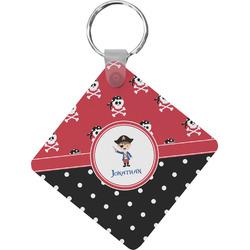 Pirate & Dots Diamond Key Chain (Personalized)