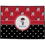 Pirate & Dots Door Mat (Personalized)