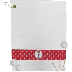 Pirate & Dots Golf Towel (Personalized)