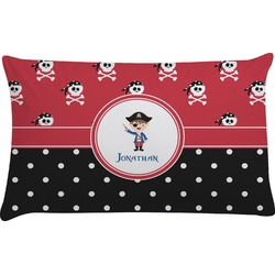 Pirate & Dots Pillow Case - King (Personalized)