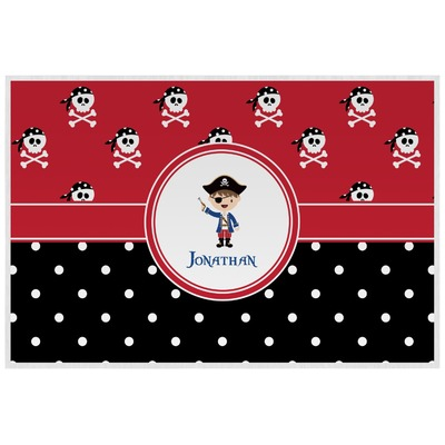 Pirate & Dots Laminated Placemat w/ Name or Text