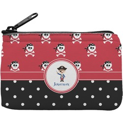 Pirate & Dots Rectangular Coin Purse (Personalized)