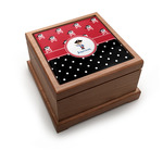 Pirate & Dots Pet Urn w/ Name or Text