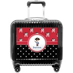 Pirate & Dots Pilot / Flight Suitcase (Personalized)