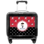 Pirate & Dots Pilot / Flight Suitcase (Personalized)