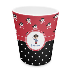 Pirate & Dots Plastic Tumbler 6oz (Personalized)