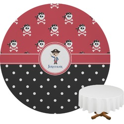 Pirate & Dots Round Tablecloth (Personalized)