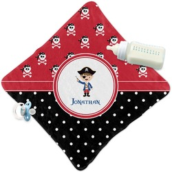 Pirate & Dots Security Blanket (Personalized)