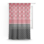 Pirate & Dots Sheer Curtains (Personalized)