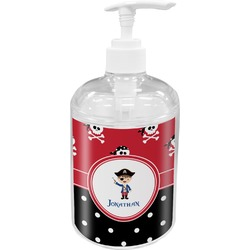 Pirate & Dots Soap / Lotion Dispenser (Personalized)