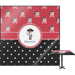 Pirate & Dots Square Table Top (Personalized)