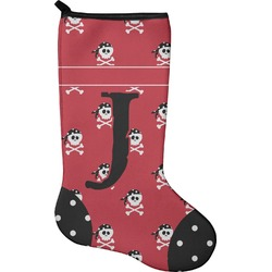 Pirate & Dots Christmas Stocking - Neoprene (Personalized)