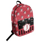 Pirate & Dots Student Backpack (Personalized)