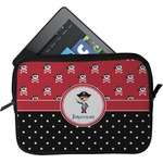 Pirate & Dots Tablet Case / Sleeve (Personalized)